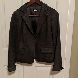 Jcrew Wool Gray Tweed Blazer